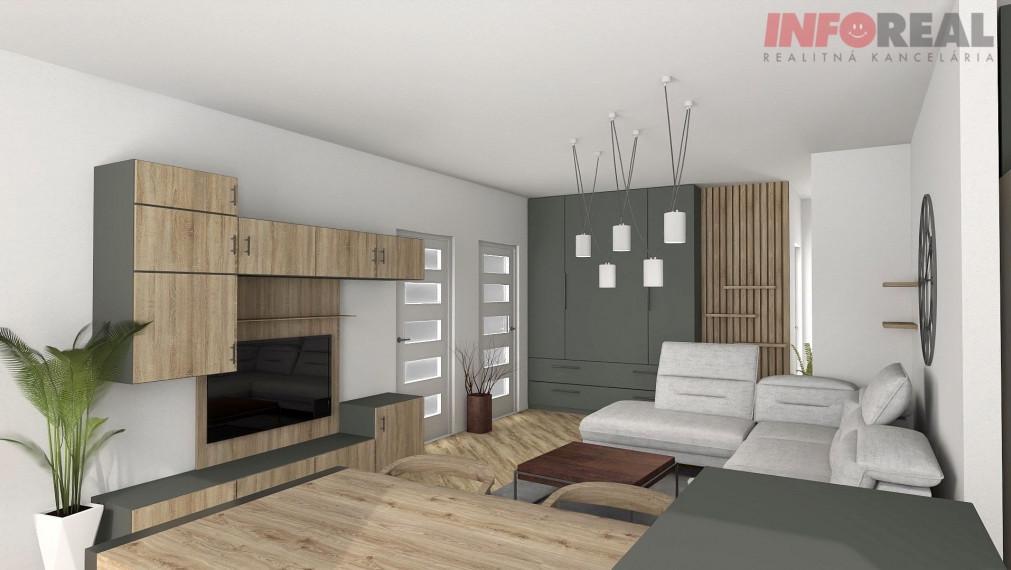 Novostavba VEŽA EUPHORIA: 3 izb. byt,  6p, terasa + loggia, pivnica, 2x garážové miesto, výhľad na mesto