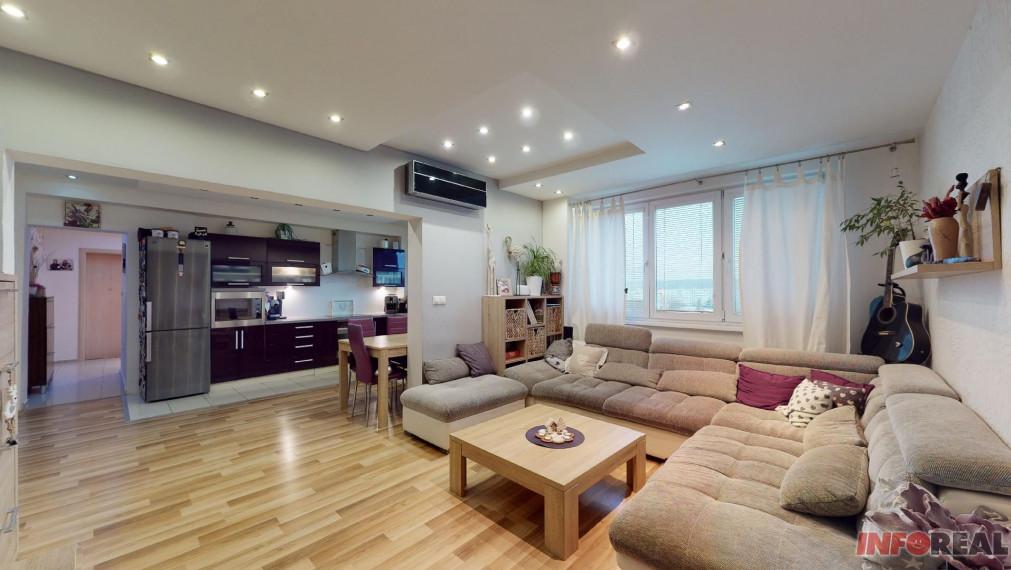 5 izb. byt + 1 izb. byt, Košice - Terasa,ul. Tr. SNP, 153 m2, 4x loggia, pivnica